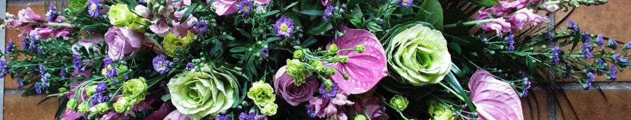Klumpkes bloem/groen/kado